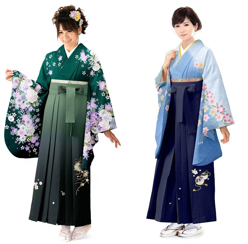 袴姿の印象を左右する「配色コーディネート」   総合貸衣装 袴 ...