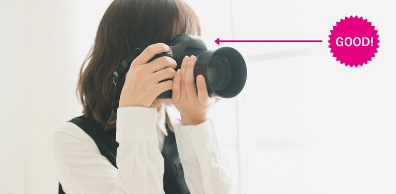 写真映りUP_カメラ目線