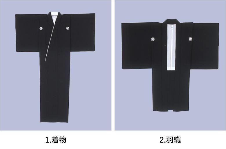 紋服_着物と羽織