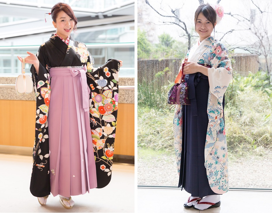 中振袖の袴スタイル03