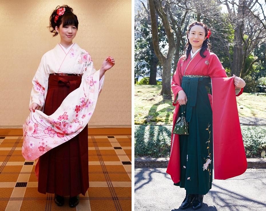 中振袖の袴スタイル02