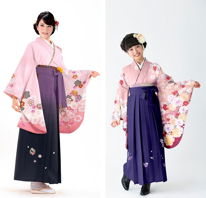 ミレニアルピンクの袴スタイル01