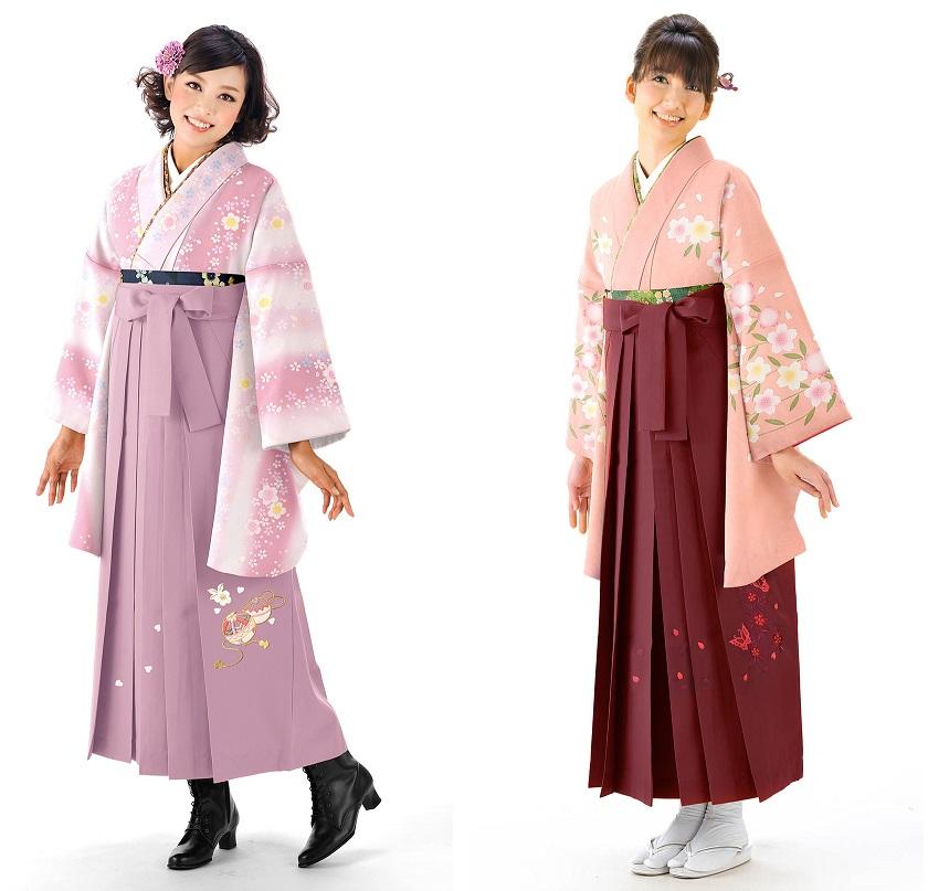 ミレニアルピンクの袴スタイル02