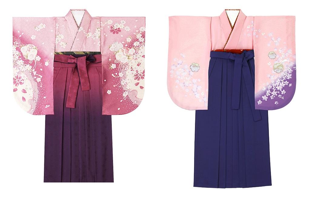 ミレニアルピンクの袴スタイル03
