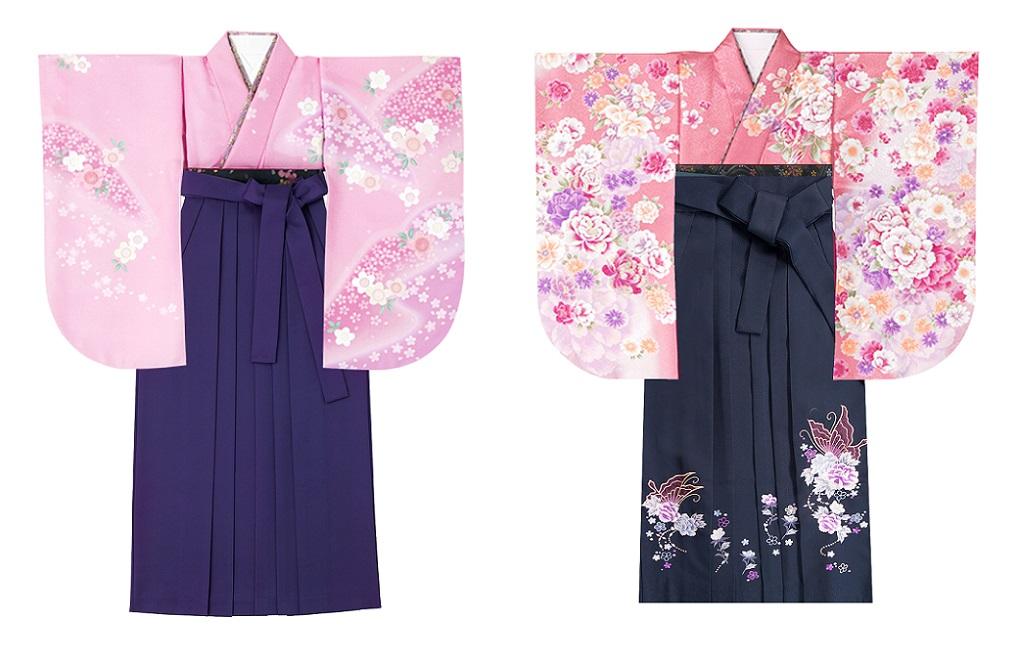 ミレニアルピンクの袴スタイル04