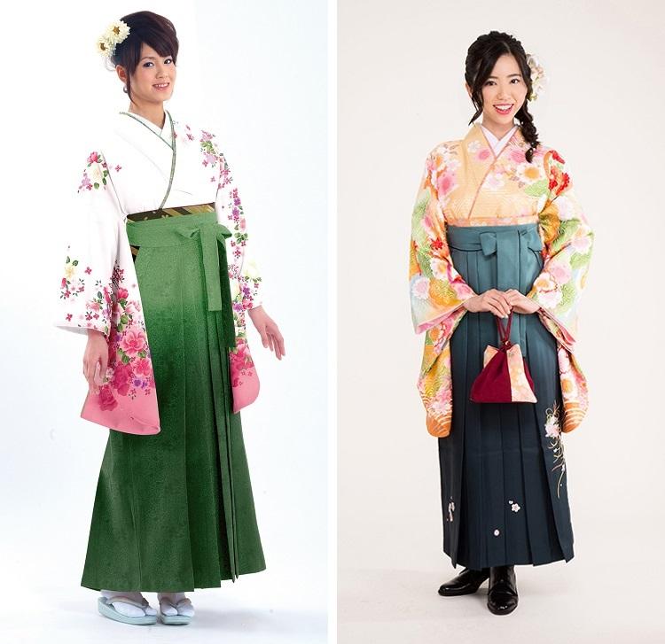 緑系の袴01
