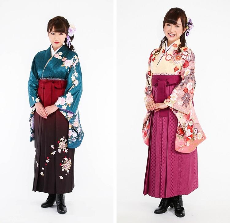赤系の袴02