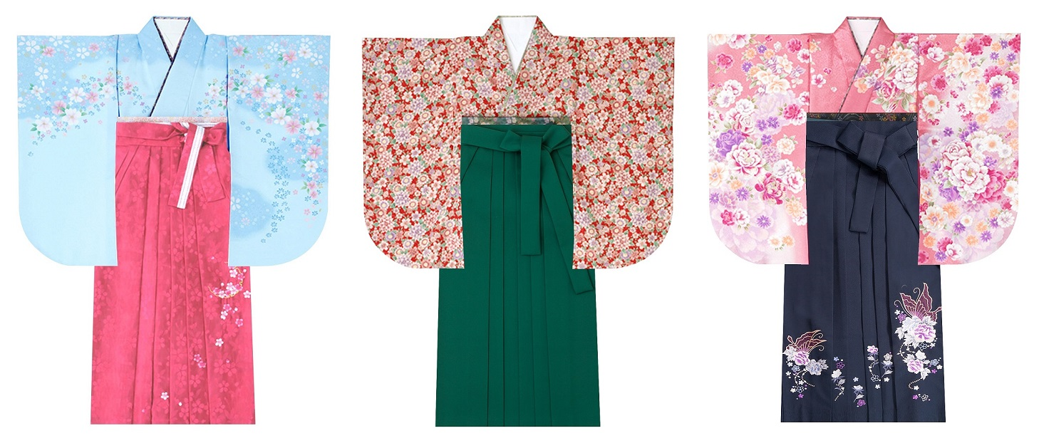 着物と袴を選ぶ