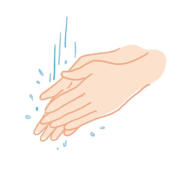 手洗い必須