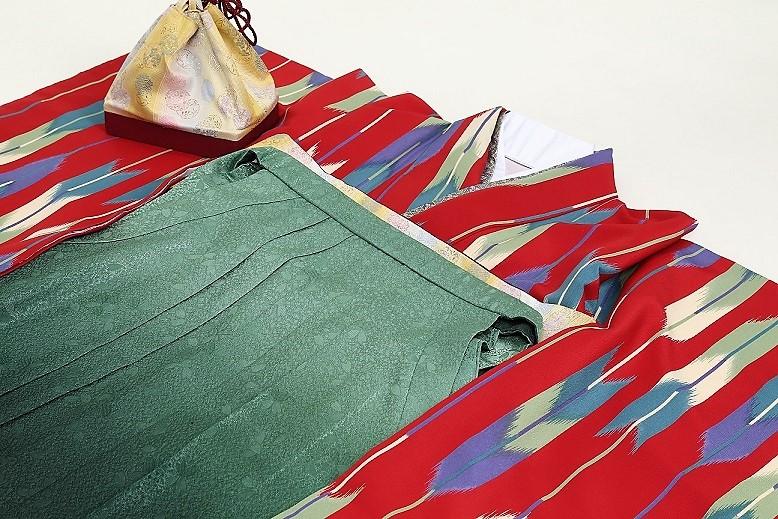 袴のセルフ着付けイメージ